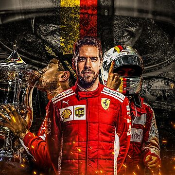 Sebastian Vettel by rubiohiphop