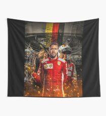 Sebastian Vettel Wandbehang