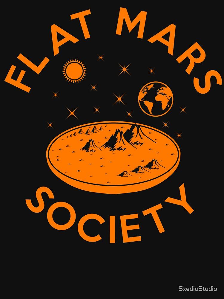 Flat Mars Society by SxedioStudio