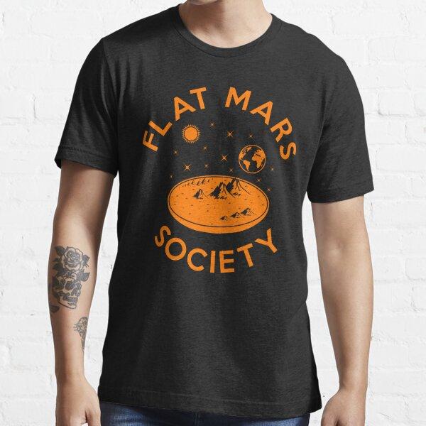 Flat Mars Society Essential T-Shirt