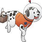Astronaut Dalmatian by ncdoggGraphics