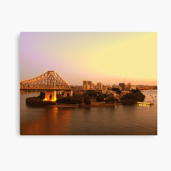 Kangaroo Point, Brisbane Canvas Print