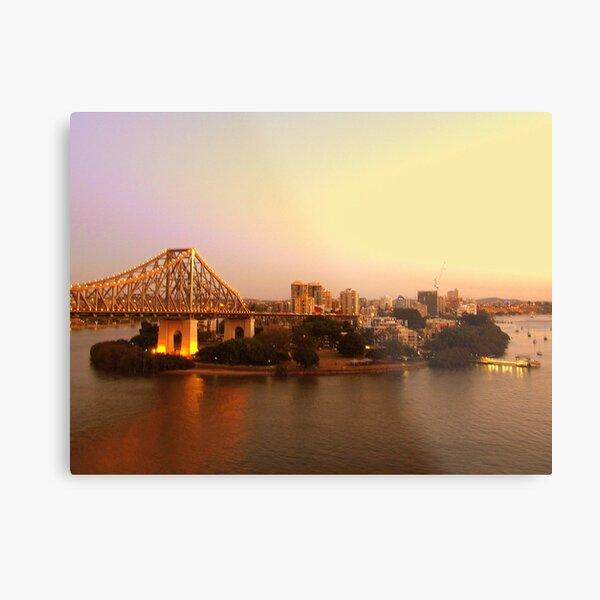 Kangaroo Point, Brisbane Metal Print