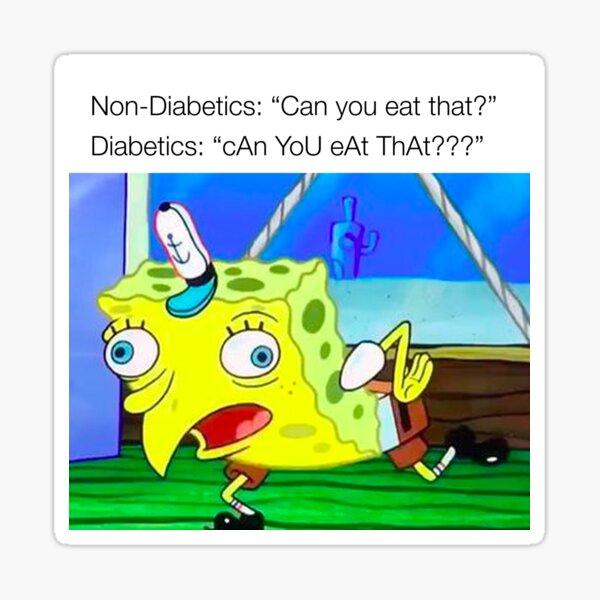Diabetes Meme Sticker
