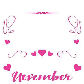November Birthdays For Women by thepixelgarden