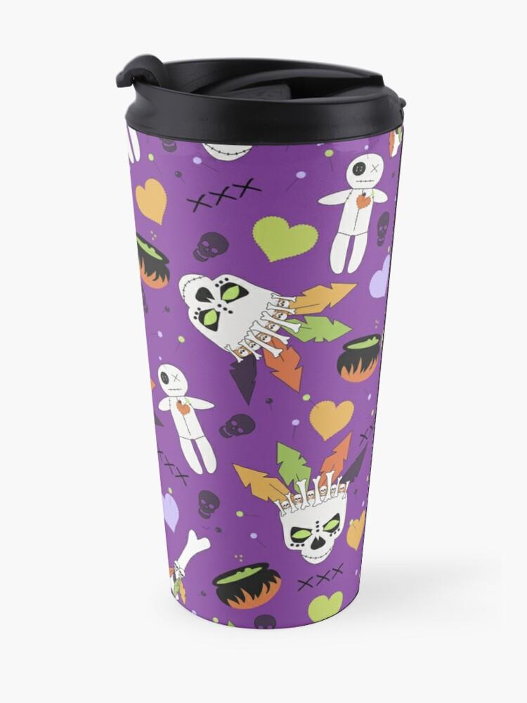 Alternate view of Voodoo Halloween Travel Mug