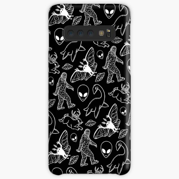 Cryptid Pattern (Pink Lines) Samsung S10 Case