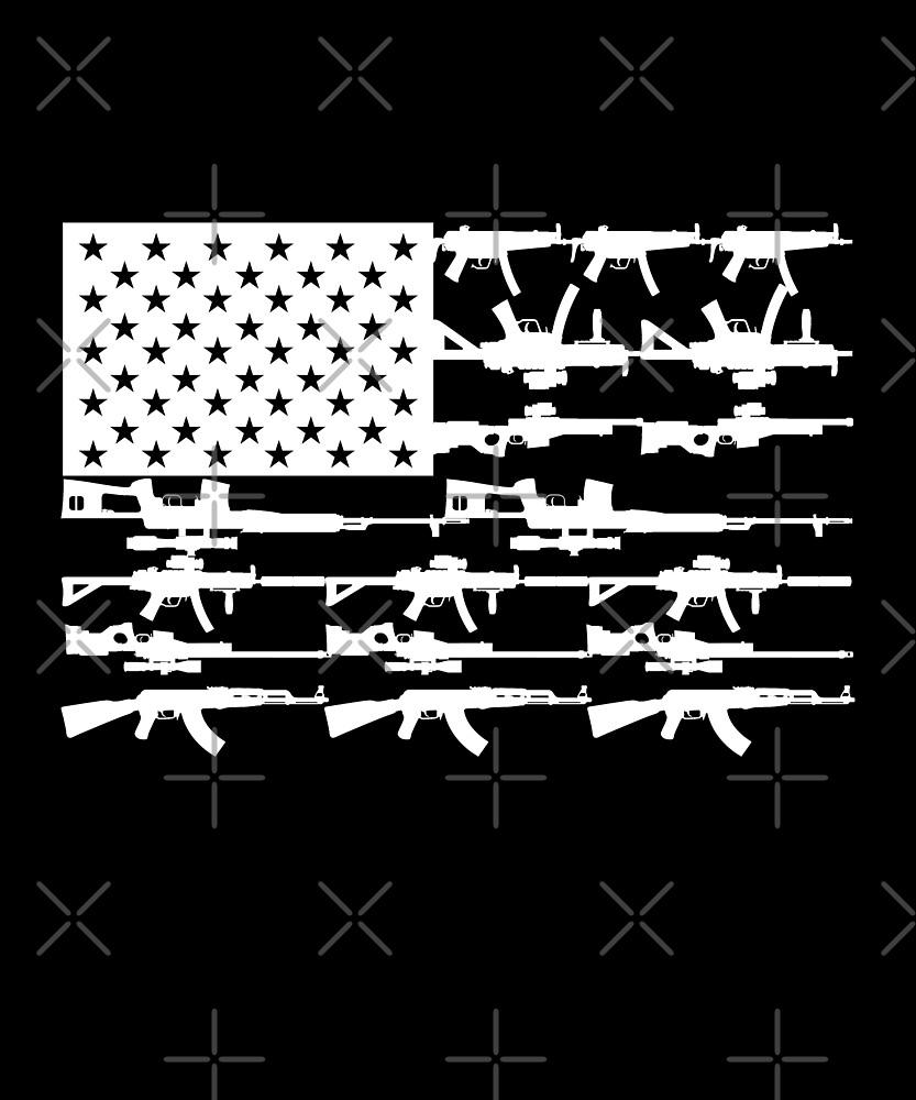 Stars, Stripes and Guns by alhern67