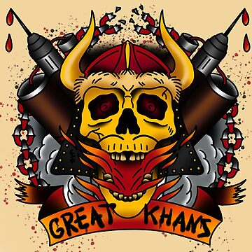 The Great Khans by QuantumTattoo