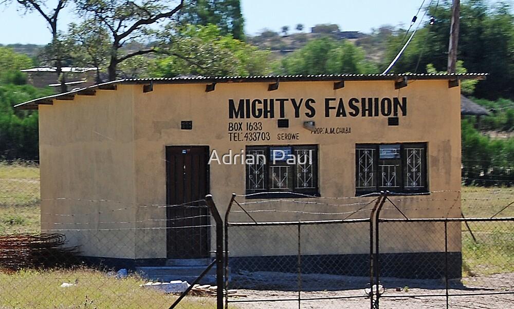 Fashion Shop, Botswana Style! by Adrian Paul