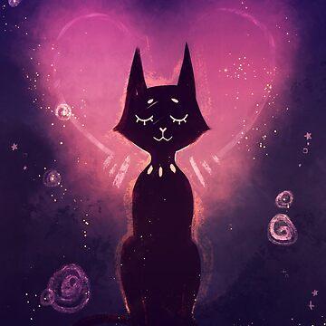 Black Cat, Gold Stars by ikimaru