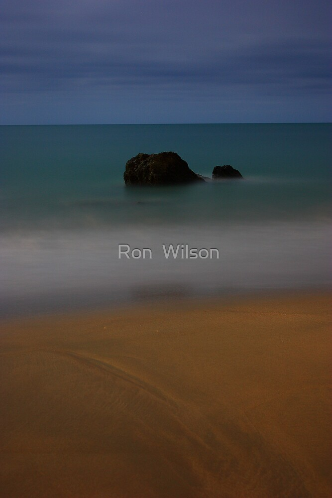 MoonLit Etty Bay by Ron  Wilson