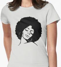 Black Is Beautiful, Original Design For Women, Men, And Kids Women's Fitted T-Shirt