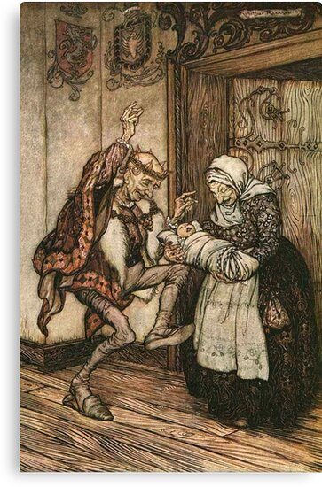 Sleeping Beauty or Briar Rose - Brothers Grimm - Arthur Rackham by forgottenbeauty