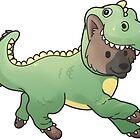 Dino German Shepherd by ncdoggGraphics