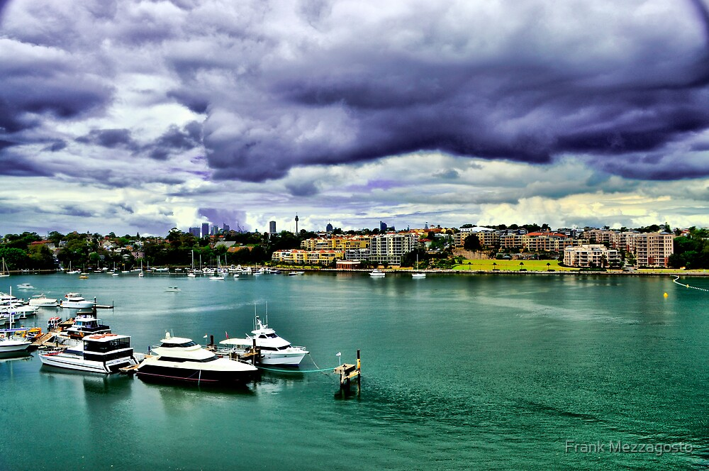 Storm Coming into Drummoyne by Frank Mezzagosto