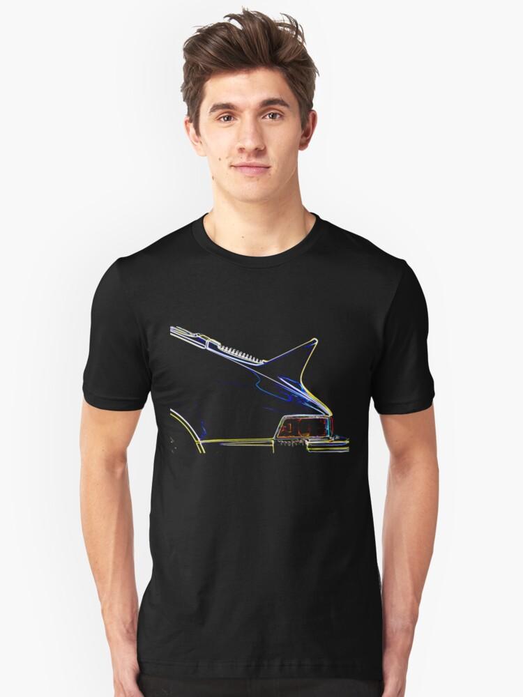 Porsche 911 Ducktail Unisex T-Shirt Front