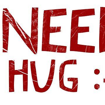 I need a hug :-( by RAWWR