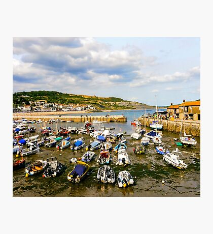 The Cobb, Harbour Photographic Print