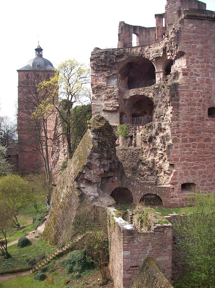 Heidelberg Castle by cassandragrj