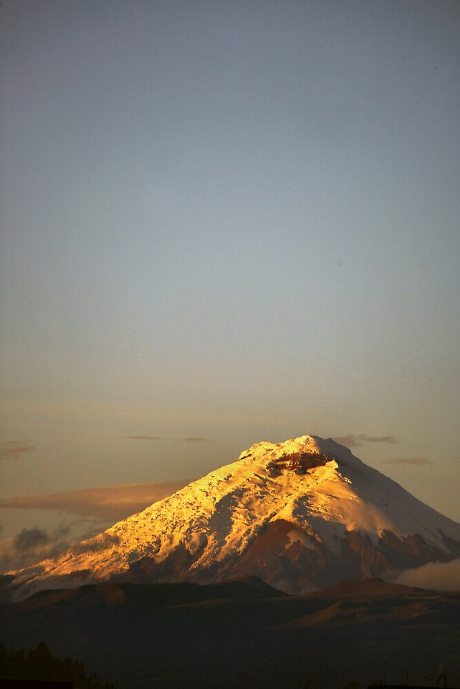 Cotopaxi sunrise by citrineblue