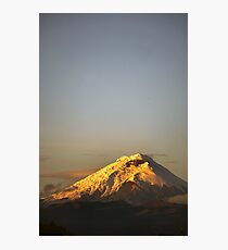 Cotopaxi sunrise Photographic Print