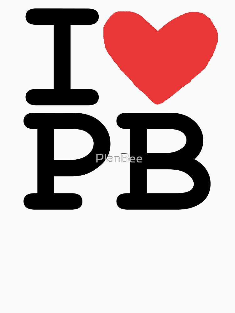 I LOVE PB by PlanBee
