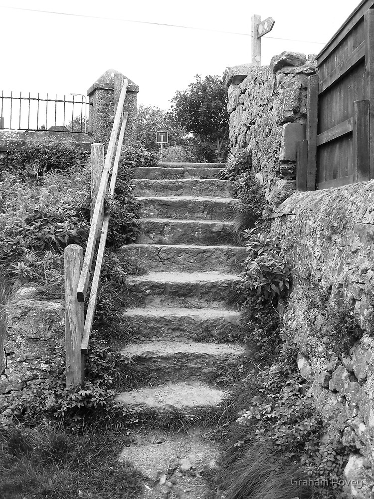 Ten stone steps to Sea by Graham Povey