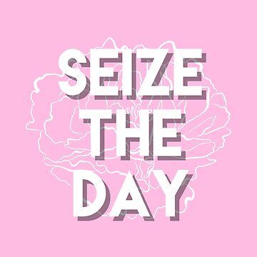 Seize the Day! Aesthetic Design by claireheil014