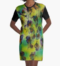 Tulips in the breeze Graphic T-Shirt Dress