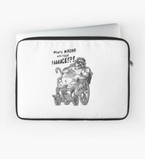 Mr. Plinkett - What's Wrong with Your Face Laptop Sleeve