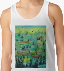 Reeds in Pond Tank Top