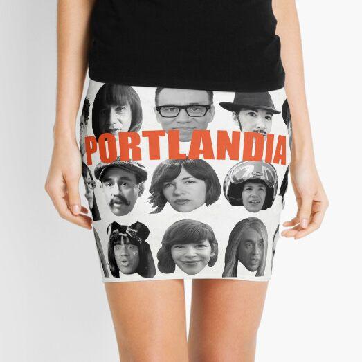 Portlandia Talking Heads Merch Mini Skirt