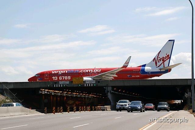 Sydney Airport by artisticpurple