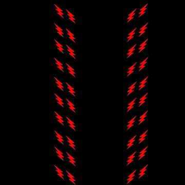 Lightning stripes by WiltWilde