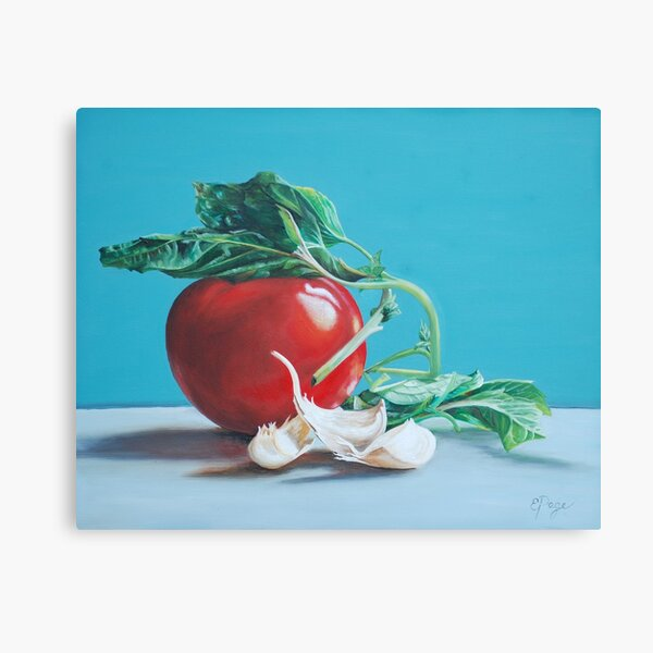At Least We Still Have Tomatoes Canvas Print