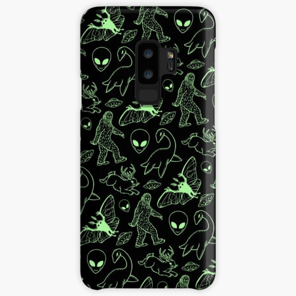Cryptid Pattern (Green Lines) Samsung Galaxy Snap Case