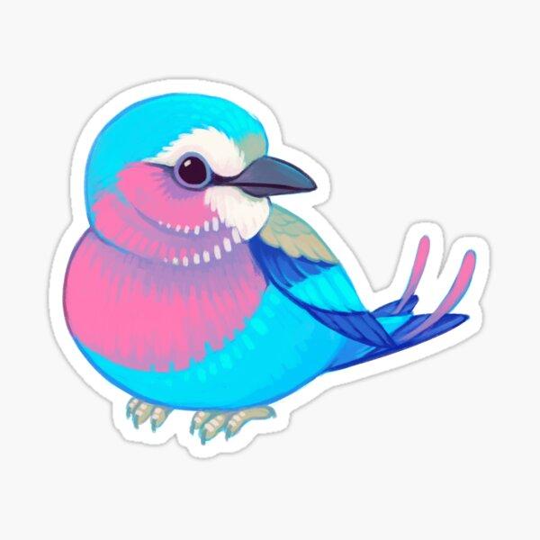 Pride Birds: Lilac-Breasted Roller Sticker