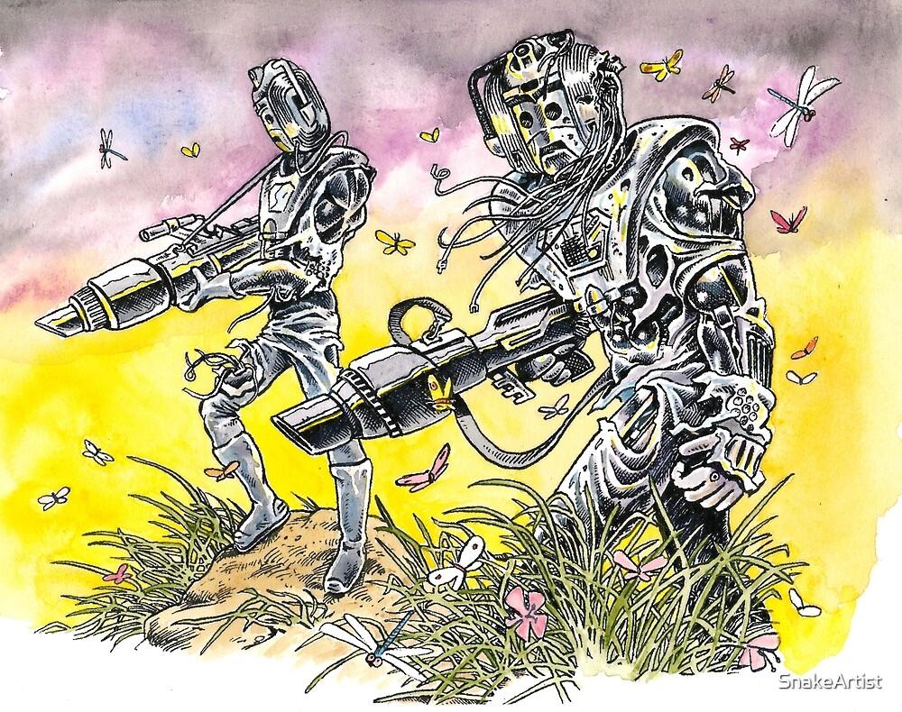 Men of steel by SnakeArtist