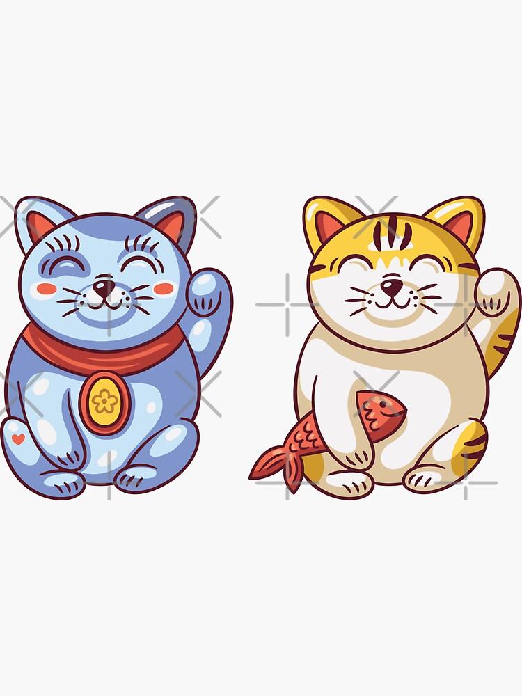 Glückliche Katzen von BekkaCampbell