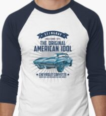 Chevrolet Corvette C2 Sting Ray 1966 Men's Baseball ¾ T-Shirt