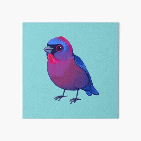 Pride Birds: Varied Bunting Art Board Print