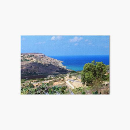 Malta - Gozo - Nadur Galeriedruck