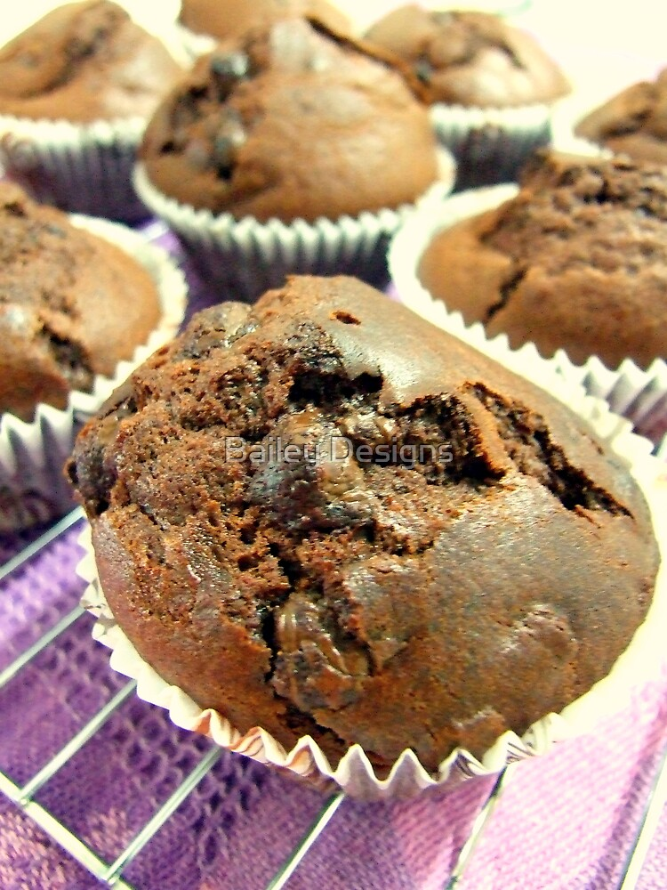 Choc Chip Muffins by Bailey Designs