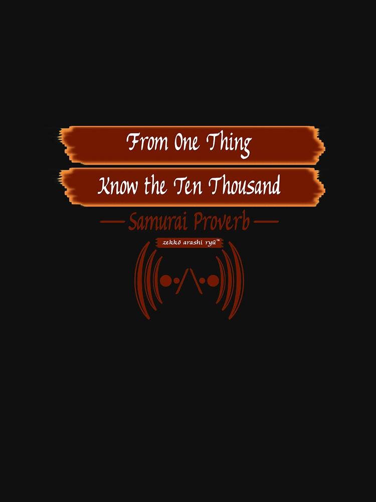 """Zekko Arashi Ryu ~ Samurai ~ """"From one thing, know the ten thousand""""    by zekkoarashiryu"""