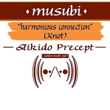 "Zekko Arashi Ryu ~ Aikido ~ musubi - Knot ""harmonious connection"" by zekkoarashiryu"