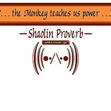 "Zekko Arashi Ryu ~ Shaolin ~ ""The Monkey teaches u..."" by zekkoarashiryu"