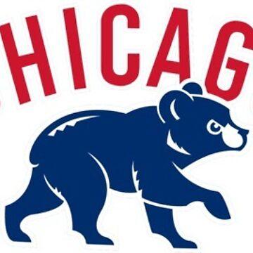 Chicago Cubs Bear Logo by JakeHutson