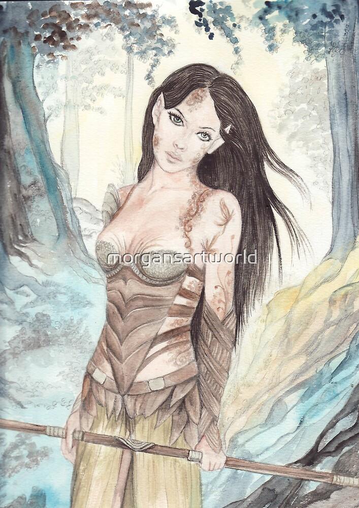 Solandra by morgansartworld
