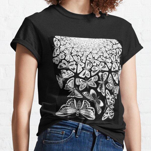 Butterflies Tessellation 1950 - Maurits Cornelis Escher Classic T-Shirt